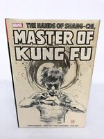 Shang-Chi Master of Kung Fu Vol 4 MACK COVER Omnibus Marvel HC New Sealed $125