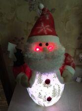 "CHRISTMAS SANTA CLAUS LIGHTED 18"" MUSICAL CHRISTMAS TREE NIGHT LIGHT"