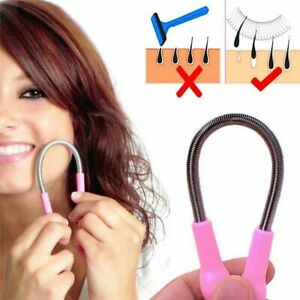 Face Hair Removal Device Micro Spring Epilator Depilation Trimmer Shaver Facial