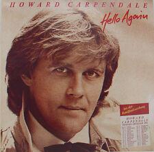 """HOWARD CARPENDALE - HELLO AGAIN 12"""" LP + OIS (h650)"""