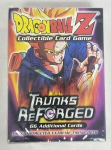 Factory Sealed 66-card Deck(s) of 2002 DRAGONBALL Z Trunks Reforged