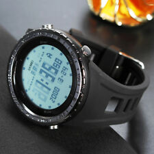 LCD Display Waterproof Digital Men's Quartz Watch Strap Band Sport Wristwatch