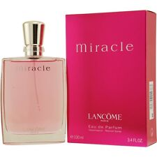 Miracle By Lancome Eau De Parfum 3.4 oz / 100 ML For Women Cologne Spray NIB