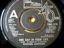 "MICHAEL JACKSON - ONE DAY IN YOUR LIFE   7"" VINYL"