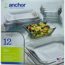 rio dinnerware square 24 set