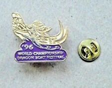 Dragon Boat Festival Pin - '96 World Championship