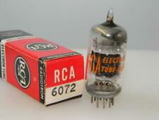 Rare RCA 6072 12AY7 NOS NIB 3 Mica Black Plts S-Rods Balanced Serious Tube M425