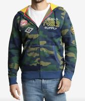 Nautica Men's Camo-Print Fleece Hoodie