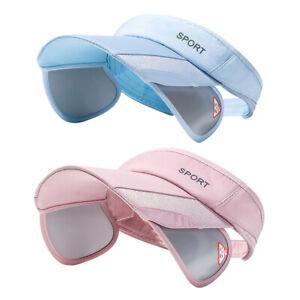 Sport Sun Protection Visor Hat Adjustable Summer Cap Wide Brim Sun Cap