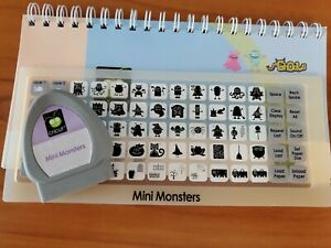 Cricut Cartridge Mini Monsters linked