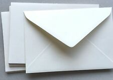 "60 x 5""x7""(130x185mm) WHITE Textured Envelopes  fit 5x7 photo WEDDING ENVELOPE"