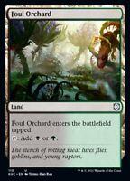 MTG Kaldheim Commander NON-FOIL U Foul Orchard #110 PLAYSET x4 4x