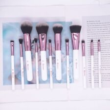 e3a2e5825bfb BH Cosmetics 12 Piece Crystal Quartz Professional Make up Brushes Set With  Bag Z