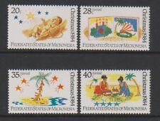 Micronesia - 1984, Christmas set - MNH - SG 28/31