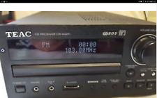 TEAC CD RECEIVER  CR-H227i.DAB/RDS CD/MP3 PLAYER IPOD DOCK  SUPERB SOUND REMOTE
