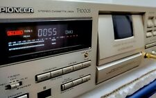 PIONEER T-1000S CT95 Tape Deck 3 Heads B&C HX PRO FLAT BLE CALIBRATION Serviced