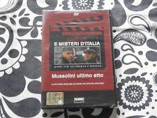 DVD - MUSSOLINI ULTIMO ATTO - CINEMA E MISTERI D'ITALIA - NUOVO E SIGILLATO