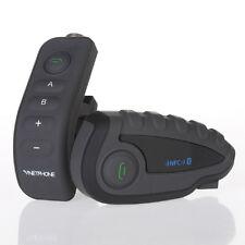 V8-1200M 5 Riders BT Bluetooth Motorcycle Helmet Interphone Intercom Headset New