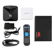 Android 7.1 3GB RAM 32GB V9 ROM H.265 HEVC 3D4K Band Wi-Fi BT4.0+Keyboard TV BOX