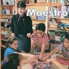 QUIERO SER MAESTRO (I Want to Be a Teacher)