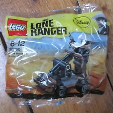 Lego Disney Lone Ranger 30260 Ranger's Pump Car Poly Bag w Mini Fig New Sealed