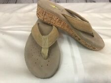 Volatile sandals womens 6 brown summer wedge