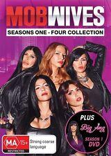 Mob Wives : Seasons 1 2 3 4 + Big Ang (18-Disc Set Collection) : NEW DVD