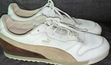 Puma Munich Shoes Size White/brown Men's Size 10.5 Sneakers