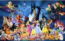 Personajes de Disney de Disney Cuadro De Punto De Cruz