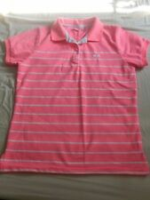 Cotton Striped Short Sleeve Tops for Women