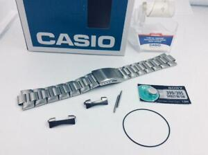 CASIO AMW-320RD Original 22mm Stainless Steel Watch BAND Strap AMW-330D-1+pins+