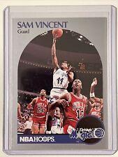 1990-91 NBA Hoops Basketball Sam Vincent #223  Michael Jordan #12