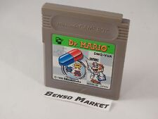 DR. MARIO DR DOCTOR SUPER BROS NINTENDO GAME BOY GB JP JAP GIAPPONESE DMG-VUA
