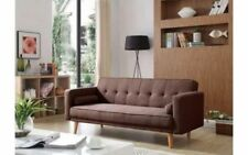 Mid-Century Modern Up to 3 Seats Sofa Beds
