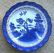 ANTIQUE THE ORIGINAL OLD WILLOW PATTERN (A8025) BOOTHS CHINA MEDIUM SIZE PLATES