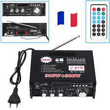 600W Bluetooth stéréo amplificateur audio voiture maison HiFi musique SD USB FM