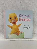 Children's Board Book~Animal Babies~New