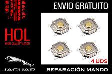 Kit de reparación mando llave Jaguar X S XJ XK XJR Type (4 botones /pulsadores)
