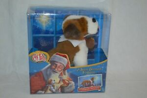 Elf On A Shelf Pet St Bernard Dog New In Box Christmas