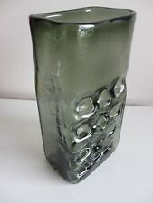 A Geoffrey Baxter Whitefriars 1960's Nuts and Bolts Willow large vase