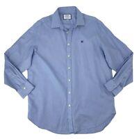 Charles Tyrwhitt Dress Shirt Men's Size 17-35 Classic Fit Button Up Long Sleeve