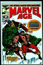 Marvel Comics MARVEL AGE #65 Wolverine NM 9.4