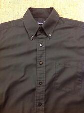 men's BEN SHERMAN (1) Small, Black Long Sleeve Oxford Shirt. Great Condition