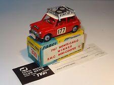 Corgi MINI COOPER S MONTECARLO  RALLY - 339 / 227 FLASH BOX