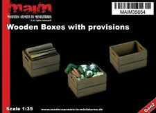 MAIM Wooden Boxes Set / 1/35 scale