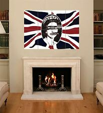 GOD SAVE THE QUEEN SEX PISTOLS ROTTEN VICIOUS GIANT ART POSTER X178