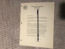 Angie Novello Signed Letter To Redhead  Robert Kennedy Stationary & News Article