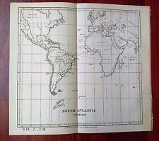 1884 Bureau of Medicine and Surgery Sketch Map South Atlantic Station