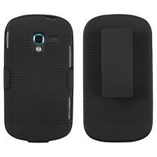 Blk Swivel Belt Clip Holster Stand Case SAMSUNG T-Mobile SGH T599 Galaxy Exhibit