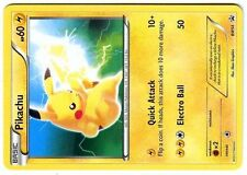 PROMO POKEMON BLACK & WHITE N° BW54 PIKACHU (NON HOLO VERSION)